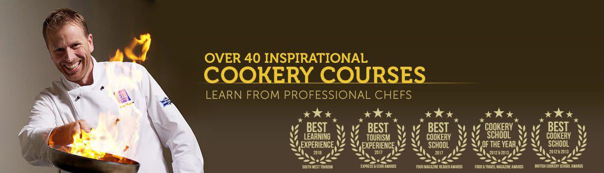 Ashburton Cookery School & Chefs Academy - Over 40 Cookery Courses